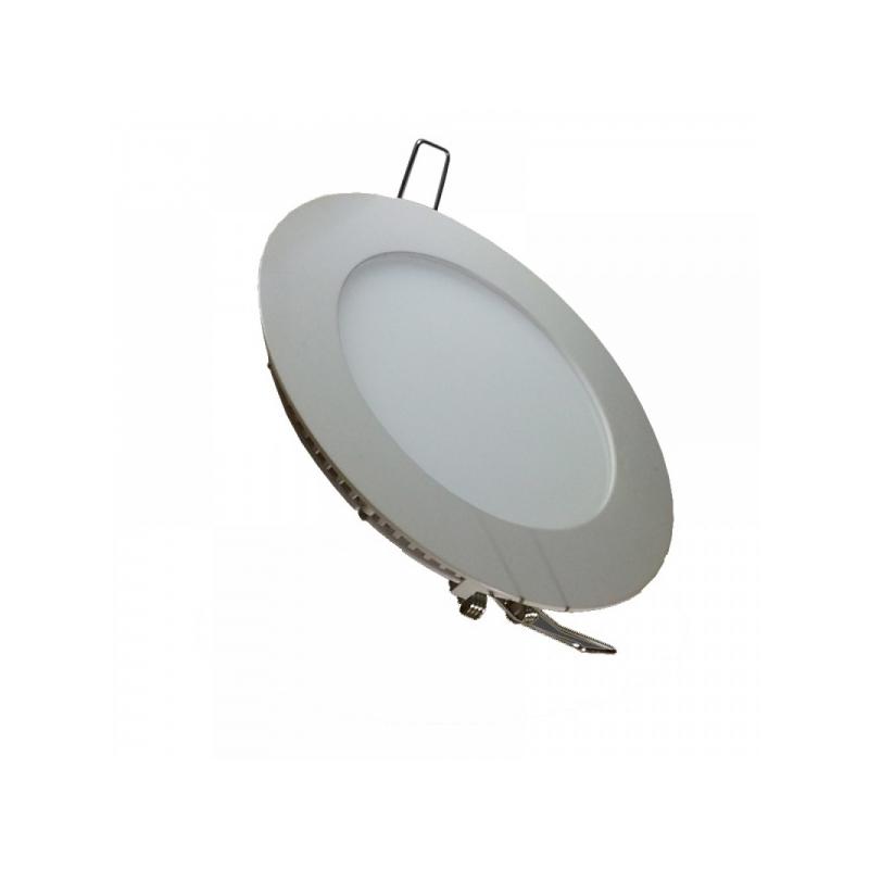 9e0e5c527b4 Süvistatav paneel 8W SMD ümar LED 220V Soe valge @ Ledproff