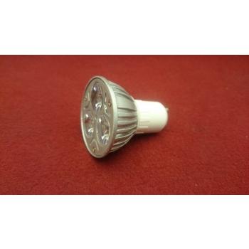 GU10 Kohtpirn 3x1W LEDi 3W 220V Soe valge
