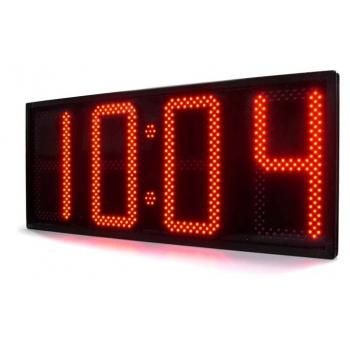 Kellaaja ja temperatuuri LED Ekraan IP65 88:88