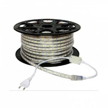 Riba painduv 5050 SMD 60LEDi/m IP65 220V Soe valge Dimmerdatav