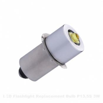 P13.5S Taskulambi Pirn 3W 5-30V Külm valge
