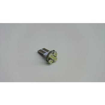 T10 Auto Pirn 5SMD 12V Külm valge