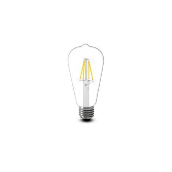 LED-disainpirnE27 retro3,5Wsoevalge