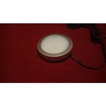 Mööblivalgusti 12V 2,7W soe valge plastikkorpus