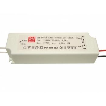 Toiteadapter  1A12W12V IP67