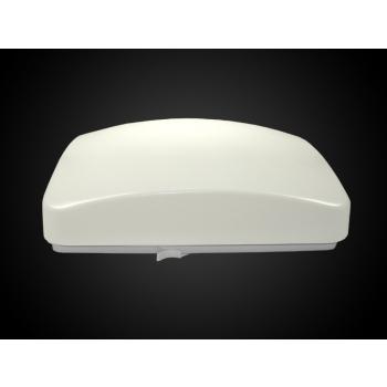 LED plafoonvalgusti 12W 220V soe valge sisemine liikumisandur kandiline