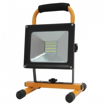 LED Prozektor 20W akuga 120kraadi IP65 neutraalne valge.