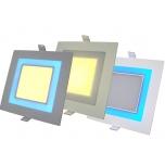 LED Allvalgusti 10W+2W >800Lm 2500-3000K