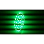 GU10 Kohtpirn SMD 3528 48 LEDi 3W 220V 50mm Roheline