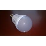 E27 Ümarpirn 10W 5630 SMD LED 220V valge klaas Soe valge