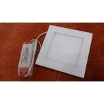 Süvistatav paneel 15W SMD kandiline LED 220V Soe valge