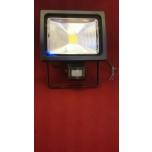 Prožektor 20W 220V 120 kraadi IP65  Soe valge liikumisanduriga