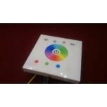 RGBW Kontroller Dimmer Sensoriga Valge