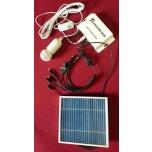Led 3W Päikesepaneel Matkakomplekt