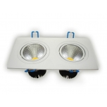 LED Allvalgusti 2x5W 750-800Lm 4000-4500K