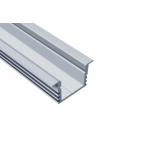 Alumiinium profiil 2m Süvistatav anodeeritud