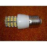E27 Pulkpirn SMD 3528 48 LEDi 3W 220V Punane