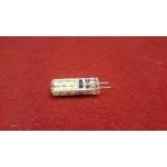 G4 pirn SMD 3014 24 LEDi 2 12V 2800K Soe valge